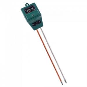 Анализатор почвы: PH-метр/влагомер/люксметр