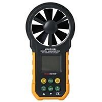 Цифровий анемометр для вимірювання температури, вологості і об'ємної витрати повітря