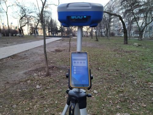 GNSS RTK геодезичний комплект ГеоМетр SCOUT GM PRO RTK L1