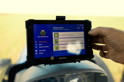 Parallel driving system (agronavigator) GeoTrack Explorer NEW GM PRO RTK L1