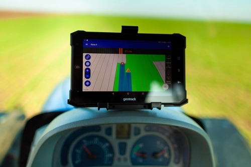 Parallel driving system (agronavigator) GeoTrack Explorer NEW GM PRO,10 Hz