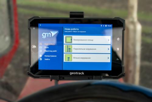 Система паралельного водіння (агронавігатор) ГеоТрек Експлорер NEW GM TARGET