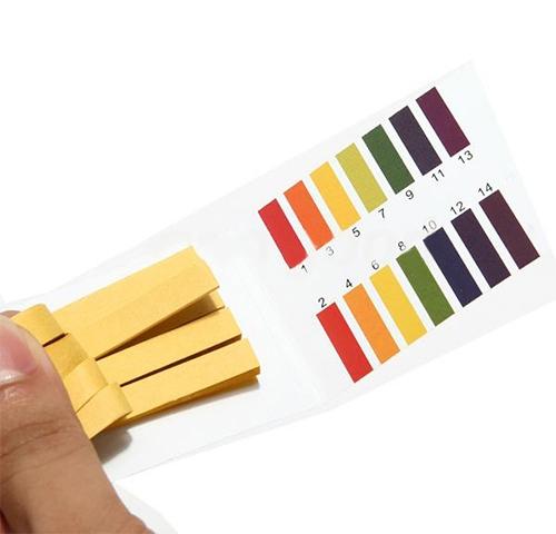 Лакмусовая бумага Sungen pH-тест 1-14рН 80 полосок