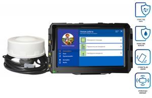 Агронавігатор (система паралельного водіння) ГеоТрек Лайт NEW GM TARGET