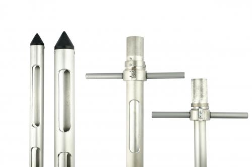 Пробоотборник зерна алюминиевый с ручками 2,2х35