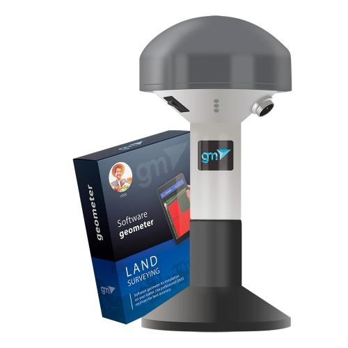 Приложение geometer с приёмником GM SPIKE RTK для измерения площади поля