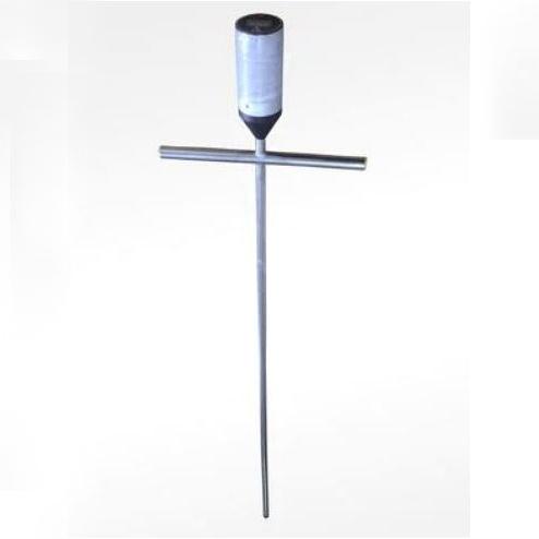 Термоштанга электронная из нержавеющей стали с ручками для зерна, силоса, грунта, 1,1 м